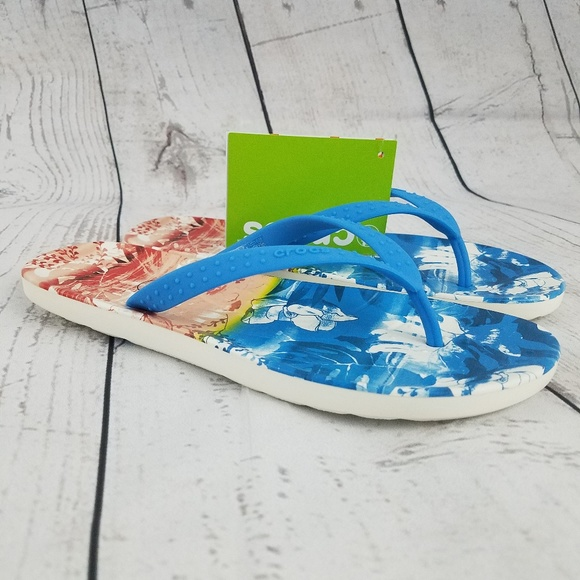 646c84e4a Crocs Chawaii Tropical II Ocean Sandals